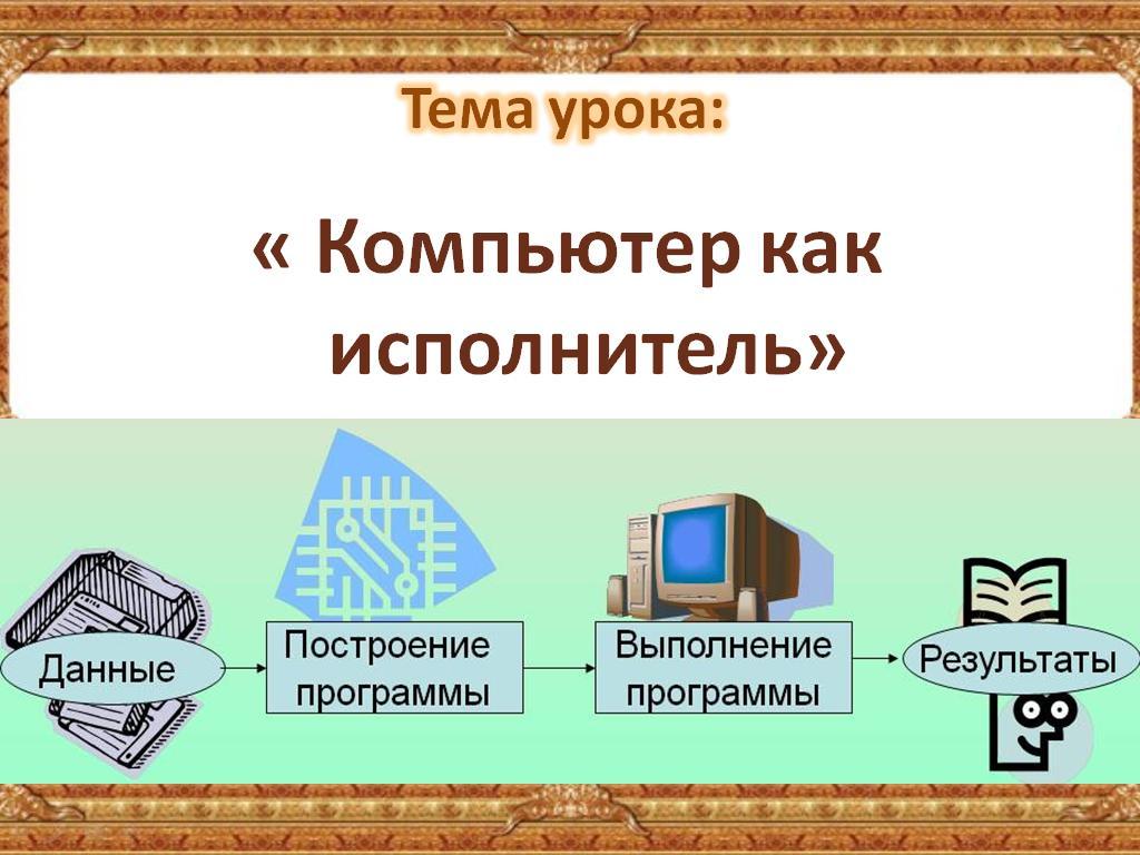 презентации информатика 4 класс матвеева
